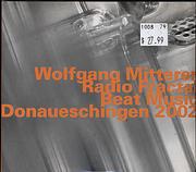 Wolfgang Mitterer CD
