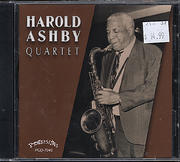 Harold Ashby Quartet CD
