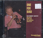 Red Rodney Quintet CD