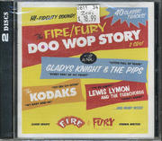 The Fire & Fury Doo Wop Story CD