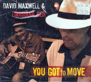 David Maxwell & Louisiana Red CD