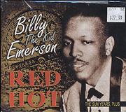 """Billy """"The Kid"""" Emerson CD"""