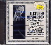 Fletcher Henderson & The Blues Singers CD