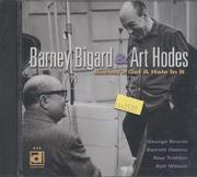 Barney Bigard & Art Hodes CD