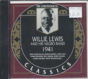 Willie Lewis And His Negro Band CD