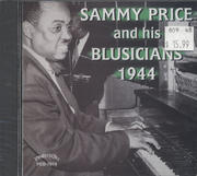 Sammy Price and his Blusicians CD