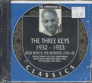 The Three Keys / Bon Bon & His Buddies CD