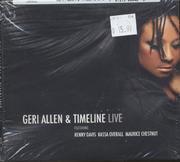 Geri Allen & Timeline CD