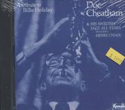 Doc Cheatham & His Swedish Jazz All Stars CD