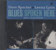 Dave Specter & Lenny Lynn CD