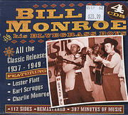 Bill Monroe And His Bluegrass Boys CD