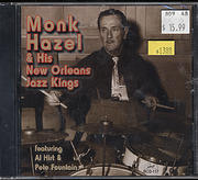 Monk Hazel & His New Orleans Jazz Kings CD