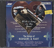 With A Song In My Heart: The Songs Of Rodgers & Hart CD