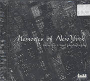 Memories of New York Thru Jazz and Photography CD