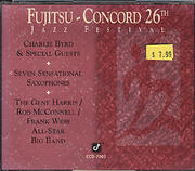Fujitsu Concord: 26th Jazz Festival CD