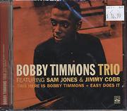 Bobby Timmons Trio CD