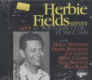 Herbie Fields Septet CD