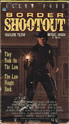 Border Shootout VHS