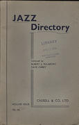Jazz Directory: Volume 4 - 12s. 6d. Book