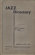 Jazz Directory: Volume 6 - 12s. 6d. Book