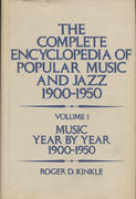 The Complete Encyclopedia of Popular Music And Jazz Book