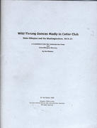 Wild Throngs Dances Madly in Cellar Club Magazine