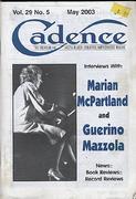 Cadence Magazine May 2003 Magazine