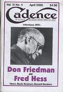Cadence Magazine April 2005 Magazine