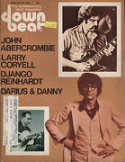 Down Beat Magazine February 26, 1976 Magazine