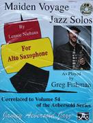 Maiden Voyage Jazz Solos Book