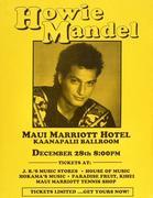 Howie Mandel Handbill
