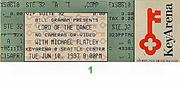 Michael Flatley Vintage Ticket