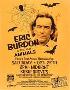 Eric Burdon & The Animals Handbill