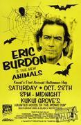 Eric Burdon & The Animals Poster
