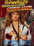 Kerrang! Kerristmas Kwizz 1988 Vintage Magazine