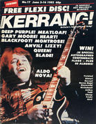 Kerrang Magazine June 3, 1982 Magazine