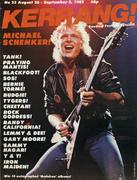 Kerrang Magazine August 26, 1982 Magazine