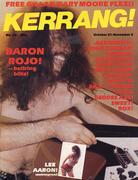 Kerrang Magazine October 21, 1982 Magazine