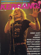 Kerrang Magazine December 2, 1982 Magazine