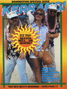 Kerrang Magazine August 11, 1983 Magazine