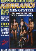 Kerrang Magazine November 1, 1984 Magazine