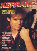 Kerrang Magazine March 7, 1985 Magazine
