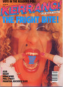 Kerrang Magazine November 28, 1985 Magazine