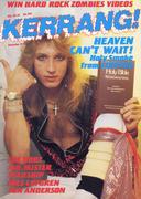 Kerrang Magazine December 12, 1985 Magazine