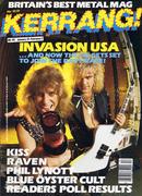 Kerrang Magazine January 23, 1986 Magazine