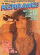 Kerrang Magazine September 4, 1986 Vintage Magazine