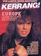 Kerrang Magazine November 27, 1986 Magazine