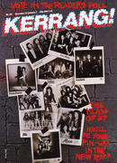 Kerrang Magazine December 25, 1986 Magazine