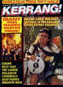 Kerrang Magazine March 19, 1987 Magazine