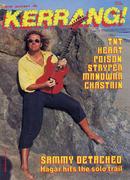 Kerrang Magazine June 25, 1987 Magazine